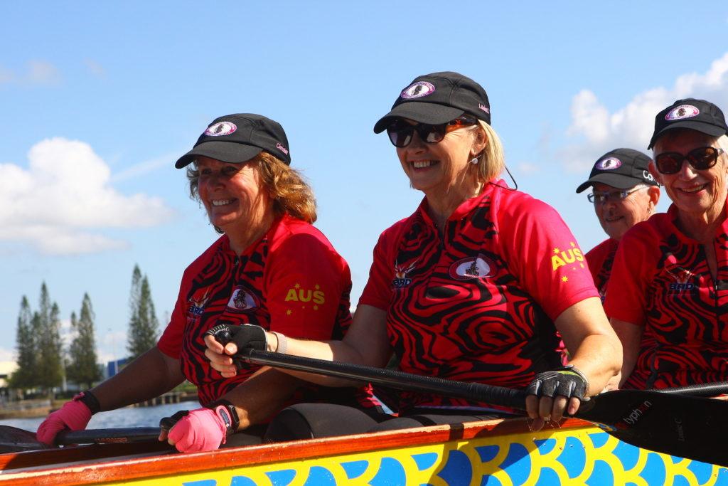dragon-boat-racing-regatta-womens-fitness-brisbane-for-breast-cancer-survivors
